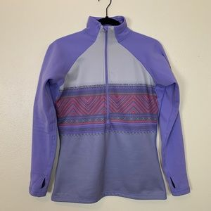 Nike Pro | Cold Weather 3/4 Zip Southwest Print